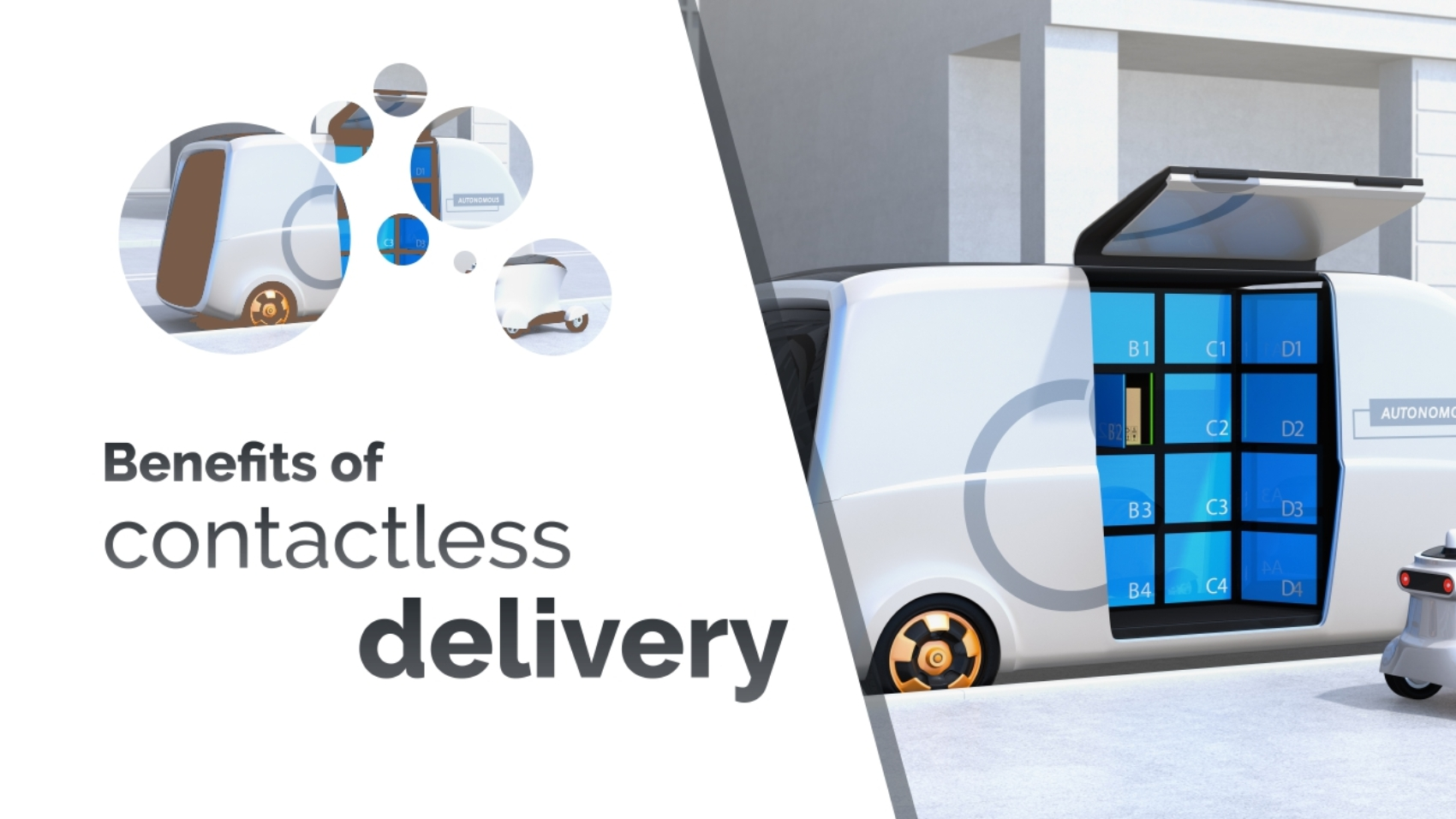 The benefits of contactless delivery