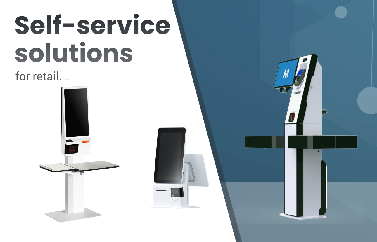 Self-service solutions for retail